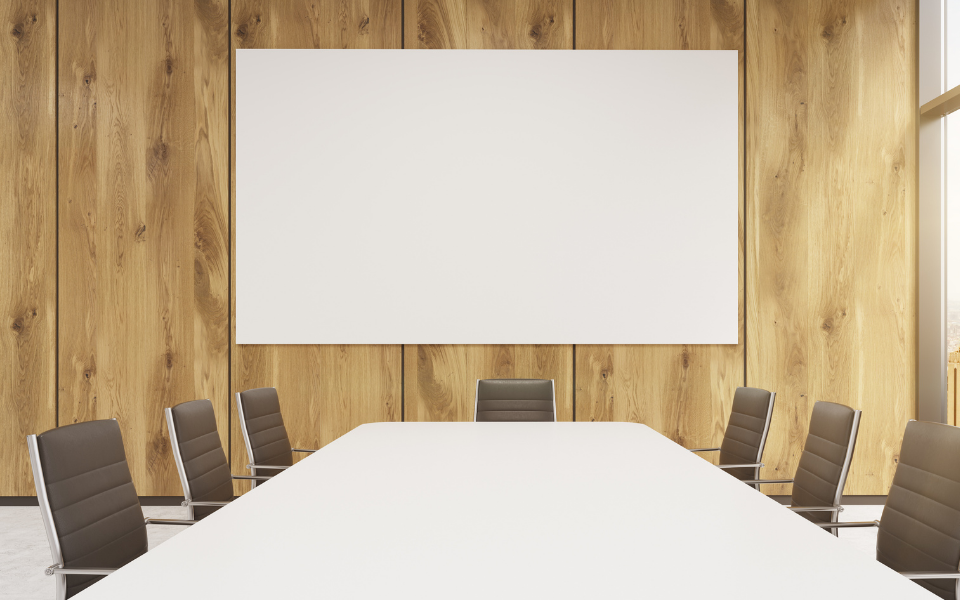 Image of empty meeting/board room