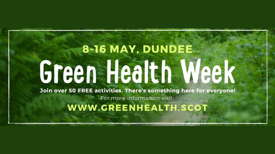 Green Health Week Graphic